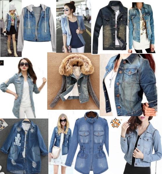 Джинсовые куртки