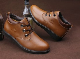 Зимняя мужская обувь Aliexpress