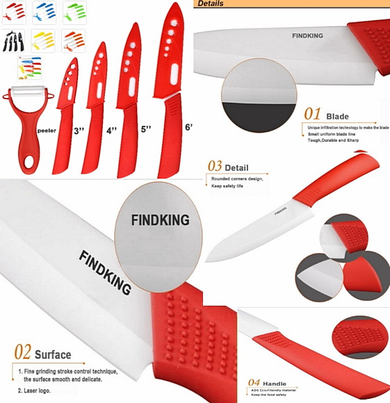 Ножи керамические findking