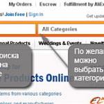 Kolejność handlu AliExpress com