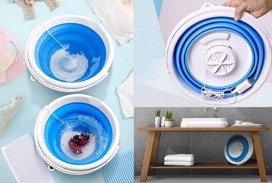портативная складная стиральная машинка