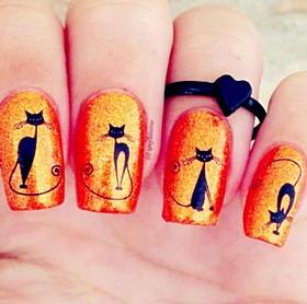 Aliexpress наклейки на ногти